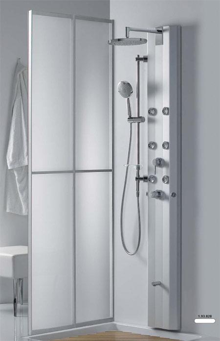 Griferia Para Ducha Tres:Paneles de Ducha – Sistemas completos de ducha con Hidromasaje – Tres