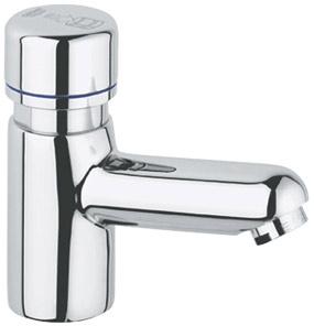 Grifer a temporizada grifos temporizados de un agua grohe for Fluxores presto