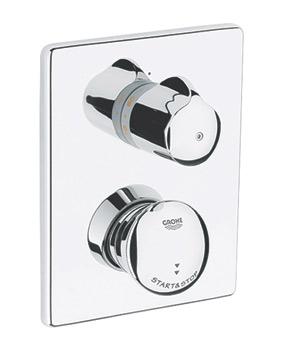 Grifer a temporizada electr nica duchas mezcladoras for Griferia de ducha grohe