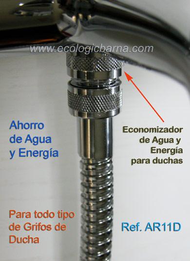 Economizador de agua para ducha ref ar11d ficha t cnica for Griferia ducha grival