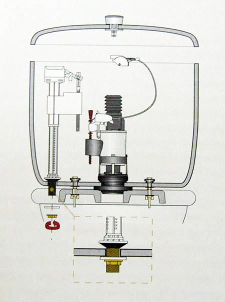 V lvula de entrada inferior para cisterna wc wqvi for Cisterna vater