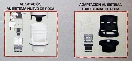 Ahorradores de agua para cisternas kit descarga completa for Arreglar cisterna roca doble pulsador