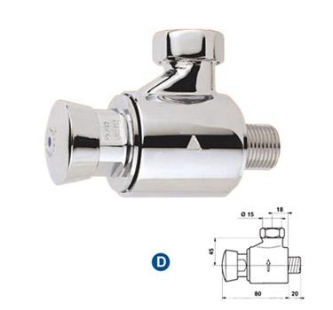 Grifer a temporizada duchas de un agua for Tubo para ducha