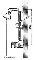 Grifer a temporizada duchas mezcladoras presto ramon for Instalacion griferia ducha