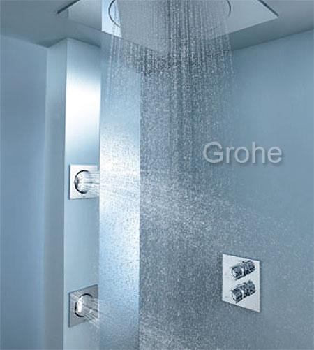 rociadores de ducha de gran tama o grohe ForDuchas De Techo Precio