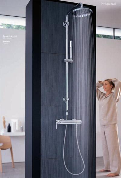 Barras de ducha grohe hogar for Ducha termostatica grohe