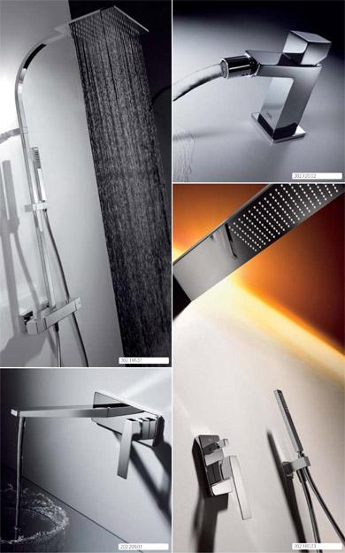 Griferia Para Baño Bm:Slim-Tres Nuevo diseño de Grifería completa para Baño