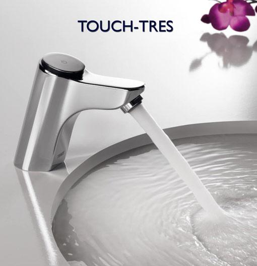 Grifer a temporizada electr nica grifos temporizados de for Llaves de agua para lavabo